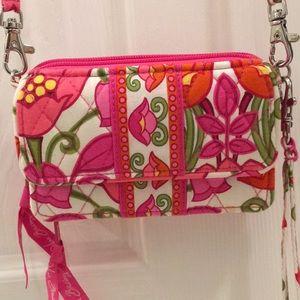 Floral Vera Bradley Crossbody handbag